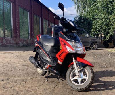 Скутер SKYLINE JF красный